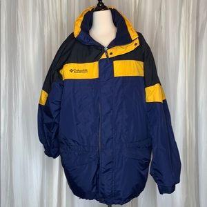 Columbia men's winter coat size Large